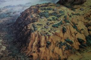 I villaggi del Palatino dall'alto