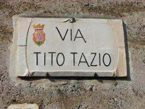 via Tito Tazio