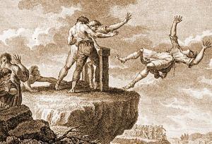 cope venivano uccisi i traditori nell'antica roma