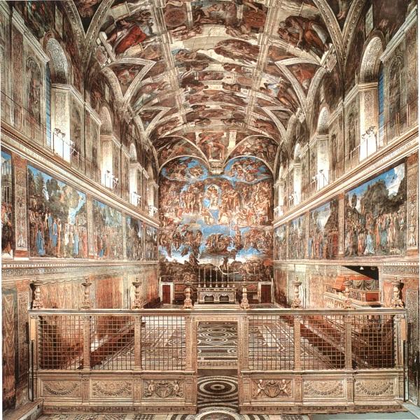 I tesori dei Musei Vaticani e Cappella Sistina