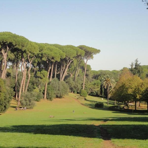 Il fascino verde di Villa Ada