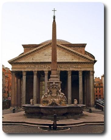 Gemello dell'obelisco di villa celimontana
