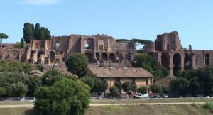 vista del Palatino sopra Circo Massimo
