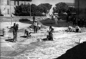 i lavoratori abruzzesi del manto stradale romane