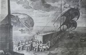 Nave trasporta obelisco a Roma dall'Egitto