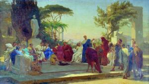 Dipinto con Mecenate