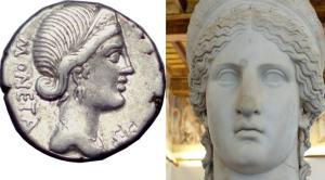 la dea romana e la sua parola romana
