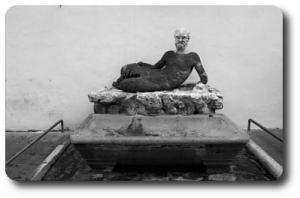 statua a via del Babuino