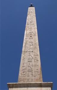 veduta dell'obelisco