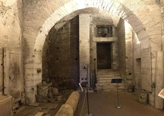 sotterranei di Roma all'Esquilino