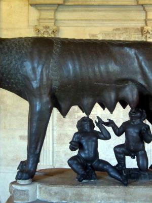 foto dai Musei capitolini di Roma