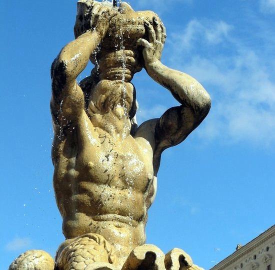 statua del tritone